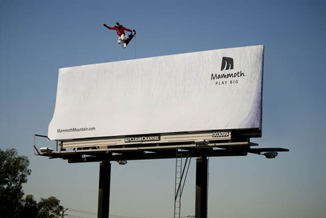 Mammoth Mountain Billboard