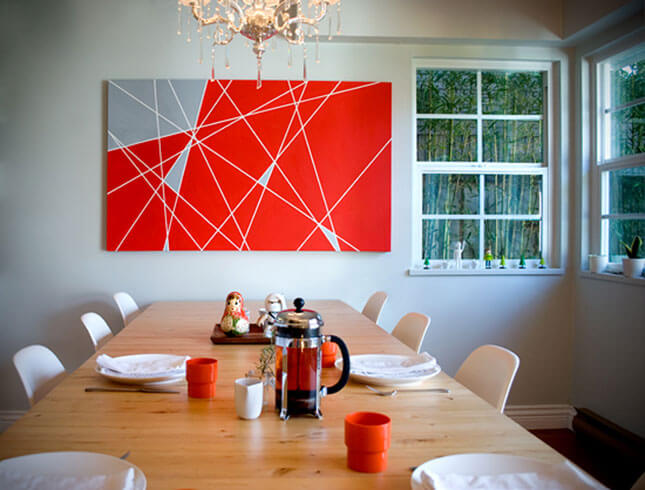 Modern Lines Wall Art from The New Domestic