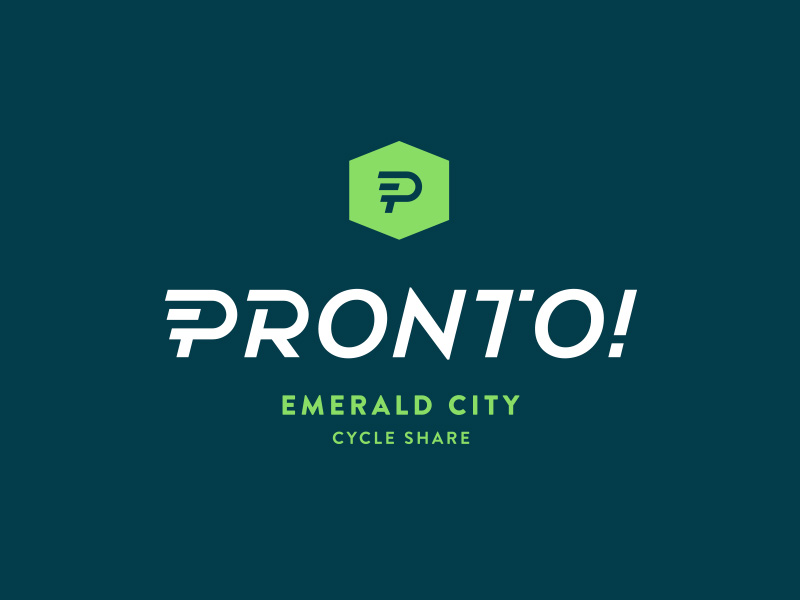 Pronto Cycle Share Logo by Urban Influence
