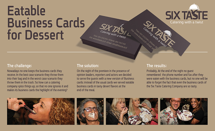 Top 40 Best Business Cards Ever Created