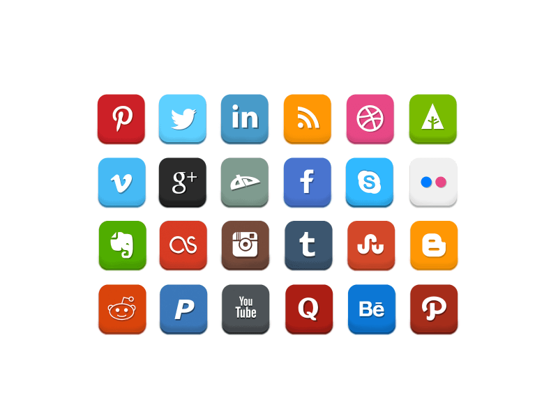 Social Media Set by Luxgood Creative