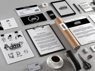 Stationery Mock-Up by calwin