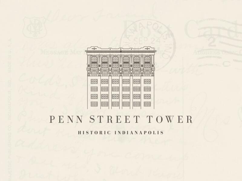 The Historic Penn Street Tower by Lee Eisenbarth