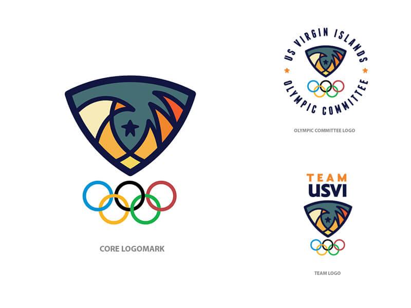 USVI Olympic Logo by Thuan Nguyen