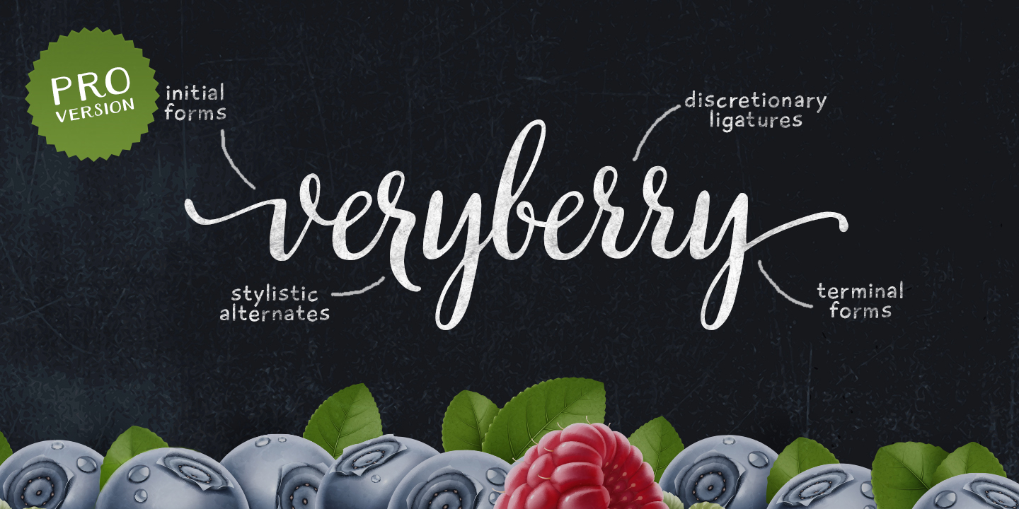 Veryberry Pro by My Creative Land