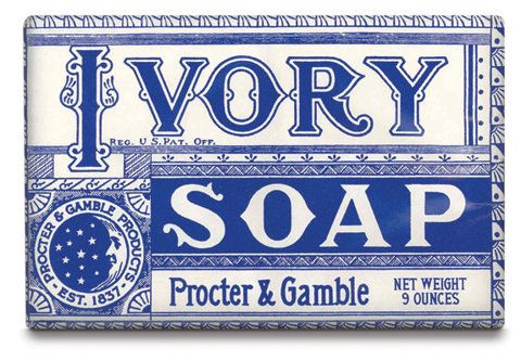 Vintage Ivory Soap Packaging