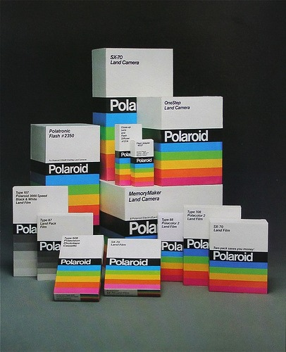 Vintage Polaroid Packaging