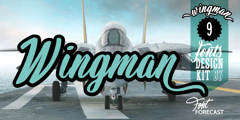 Wingman by Fontforecast