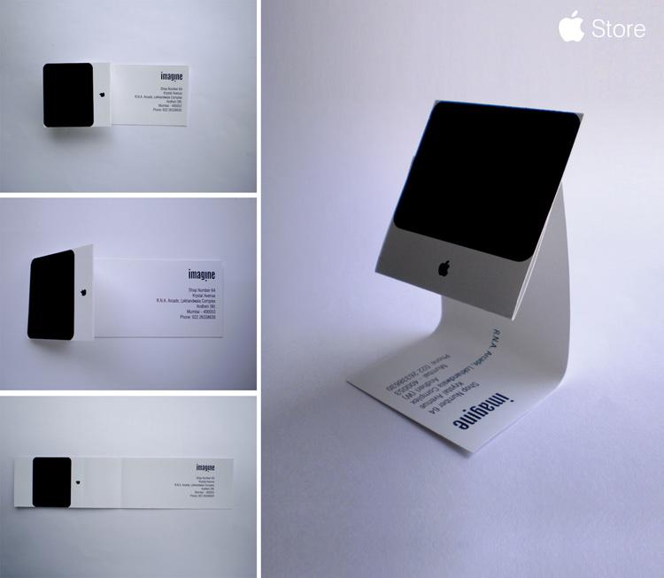 iMac business card.