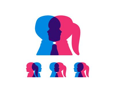 Children genetics research program logo design symbol by Alex Tass