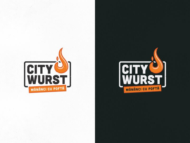 City Wurst Identity by Nicu Balan