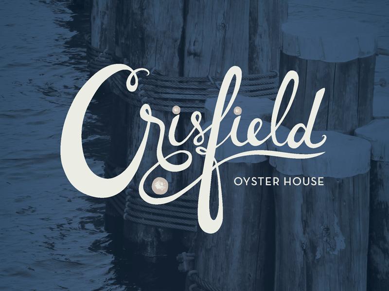 Crisfield Logo by Alyssa Castellano