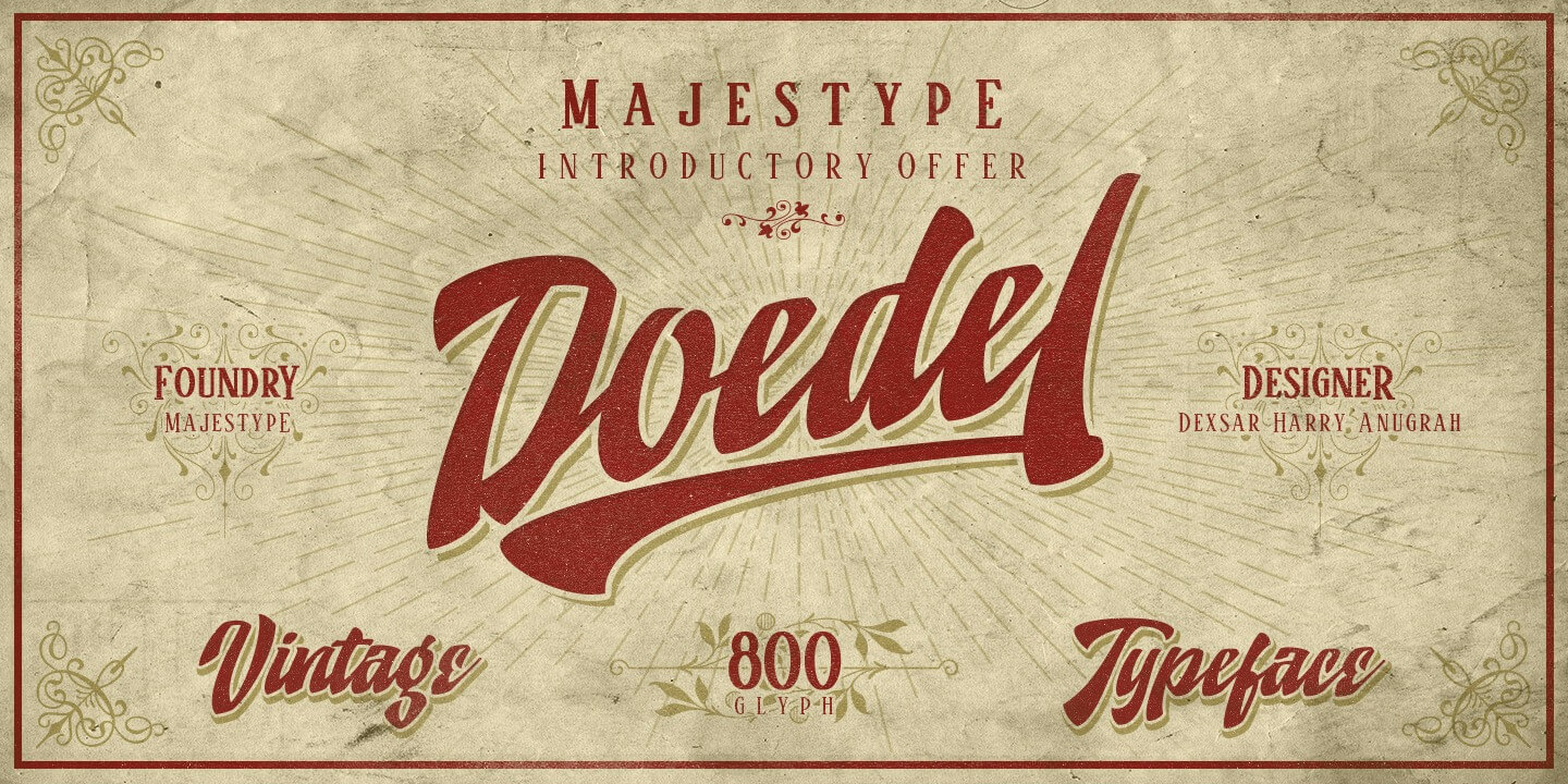 Doedel by Majestype