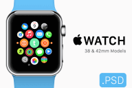Free Apple Watch Mockups and Templates-min