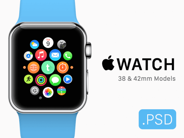 30 Free Apple Watch Templates And Mockups Inspirationfeed