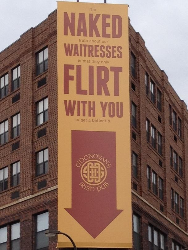 Irish Pub Billboard