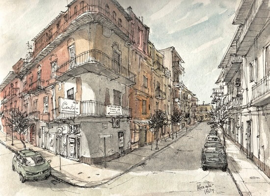 Italy Sketchbook by Rob Carey