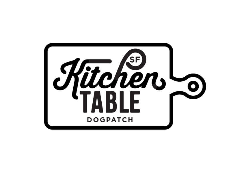 Kitchen Table Sf Logo A by Amy Hood