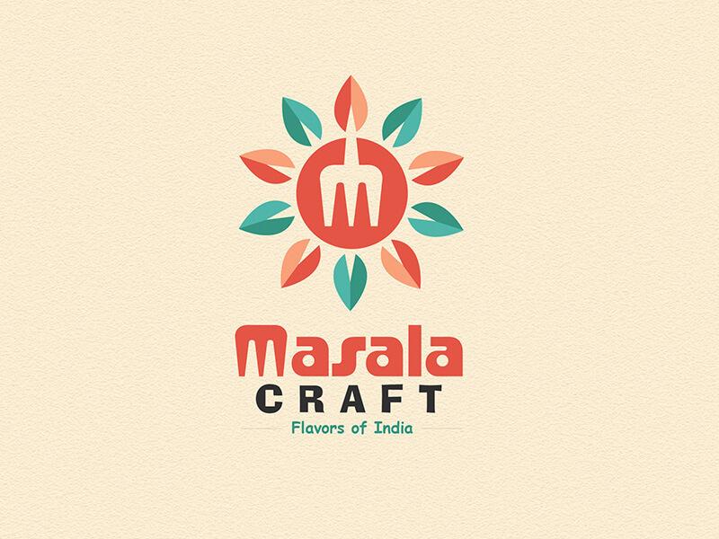 MasalaCraft Logo Desing by Kenil Bhavsar