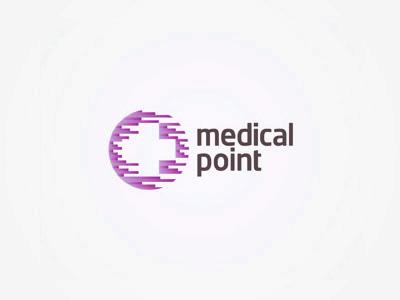 Medical Point logo design by Alex Tass
