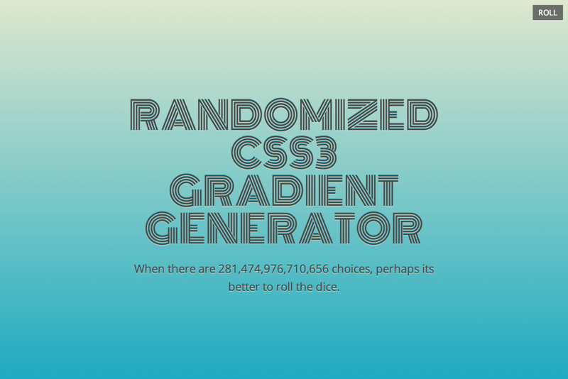 Randomized Gradient Generator