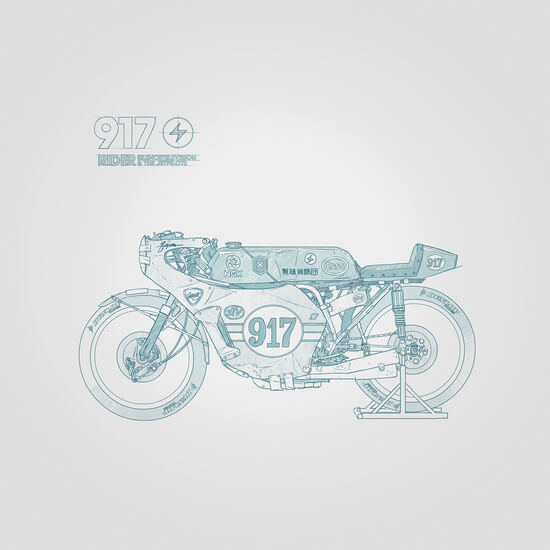 SKETCH Nº007 by Gianmarco Magnani