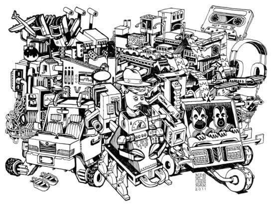 Sketch by Nigel Sussman