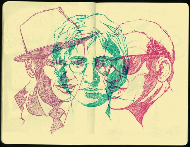 Sketch by Toni Caputo