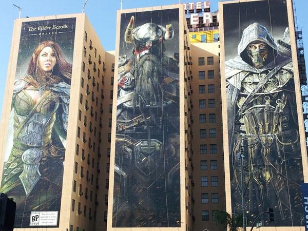The Elder Scrolls Billboard