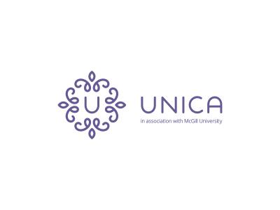 Unica medical clinic logo design by Deividas Bielskis