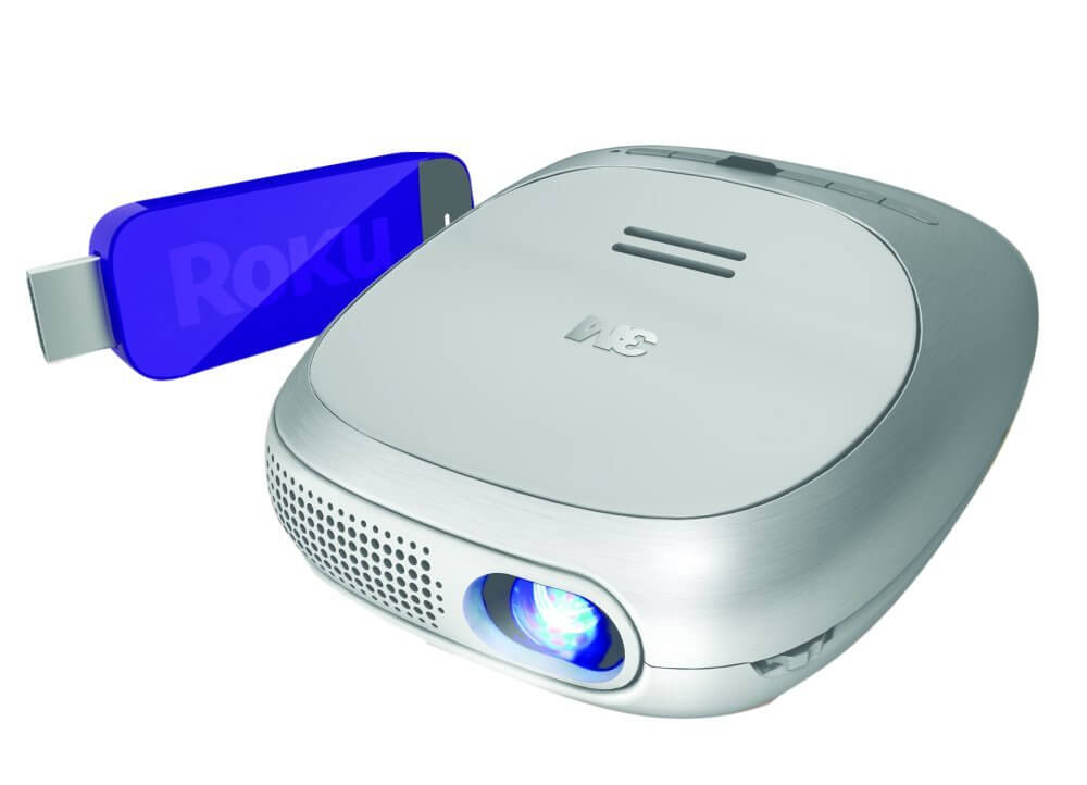 3M Streaming Projector Powered by Roku