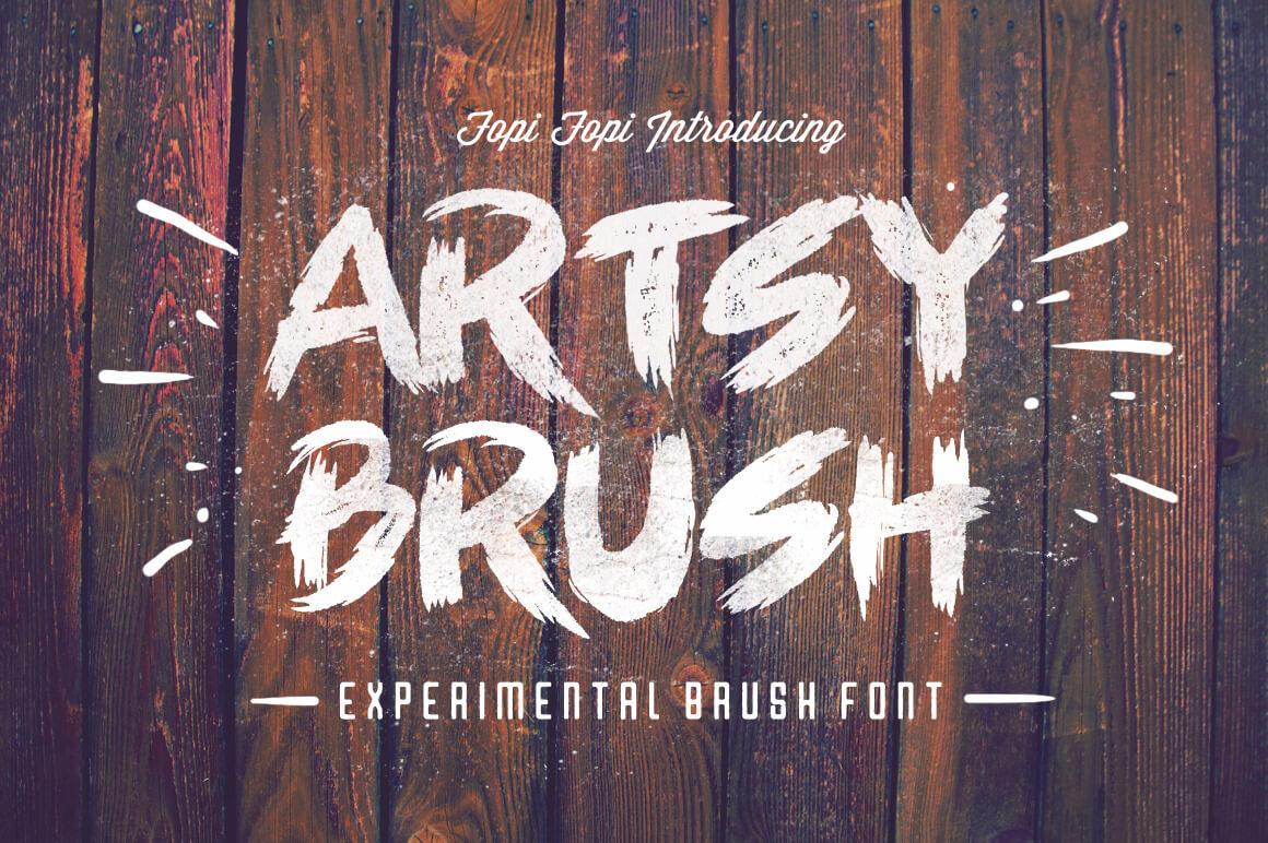 ARTSY BRUSH