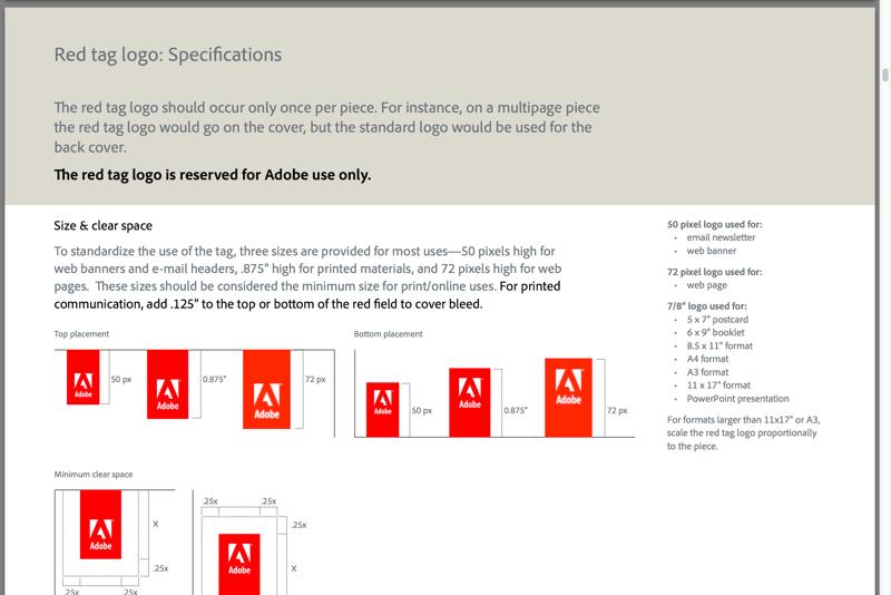 Adobe Brand Guidelines