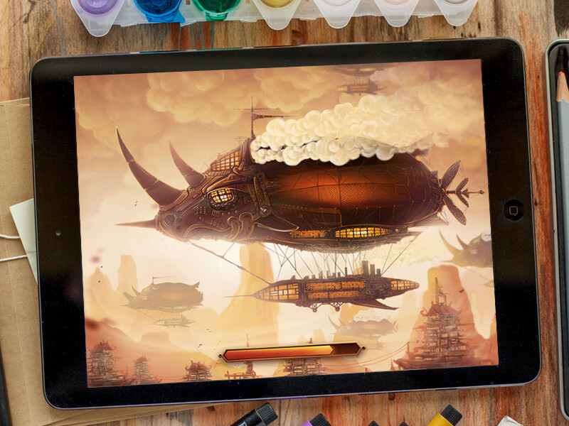 Airship by Inkration