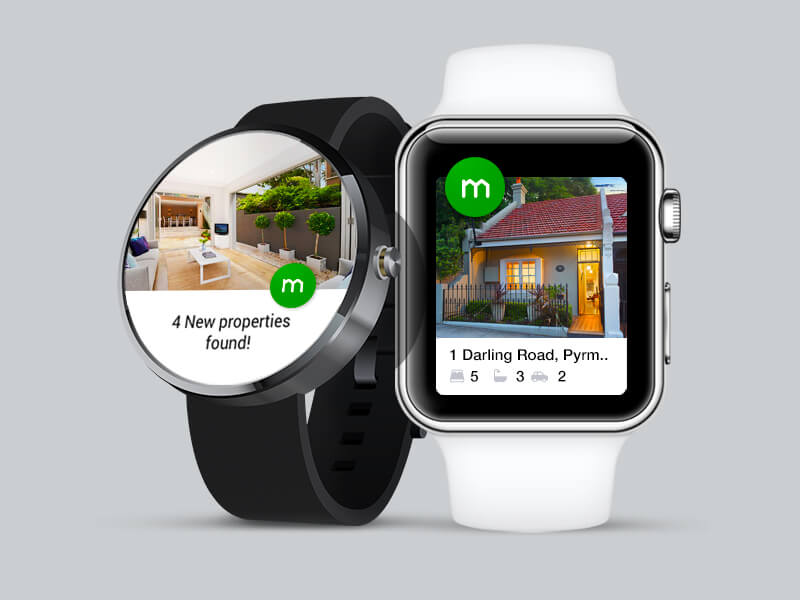 Android Wear & Apple Watch by Domain Creative