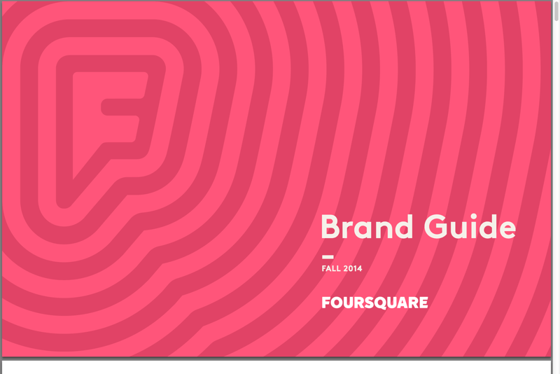 Foursquare Brand Guide