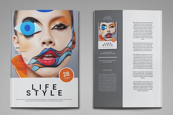 Life Style Magazine Template