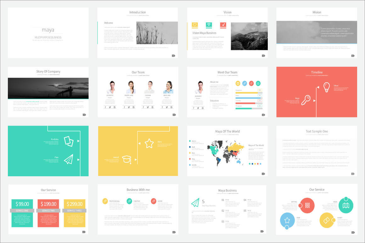 20 outstanding professional powerpoint templates for Power point templates for mac