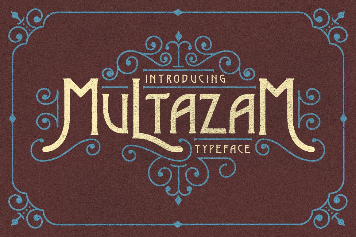 Multazam Typeface
