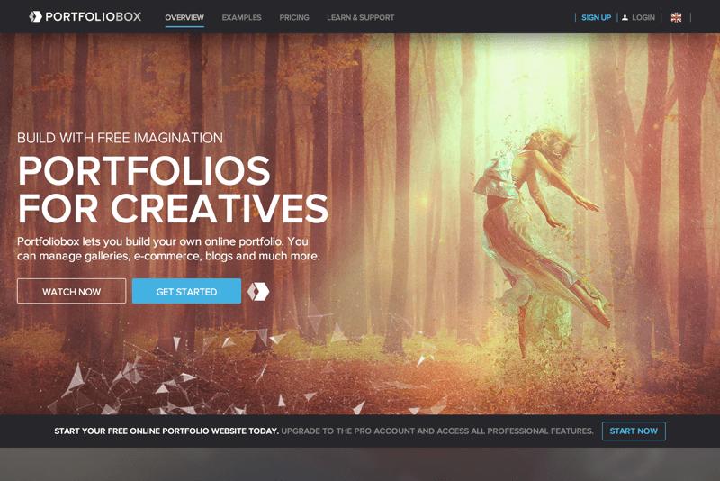 20 Free Online Portfolio Websites | Inspirationfeed