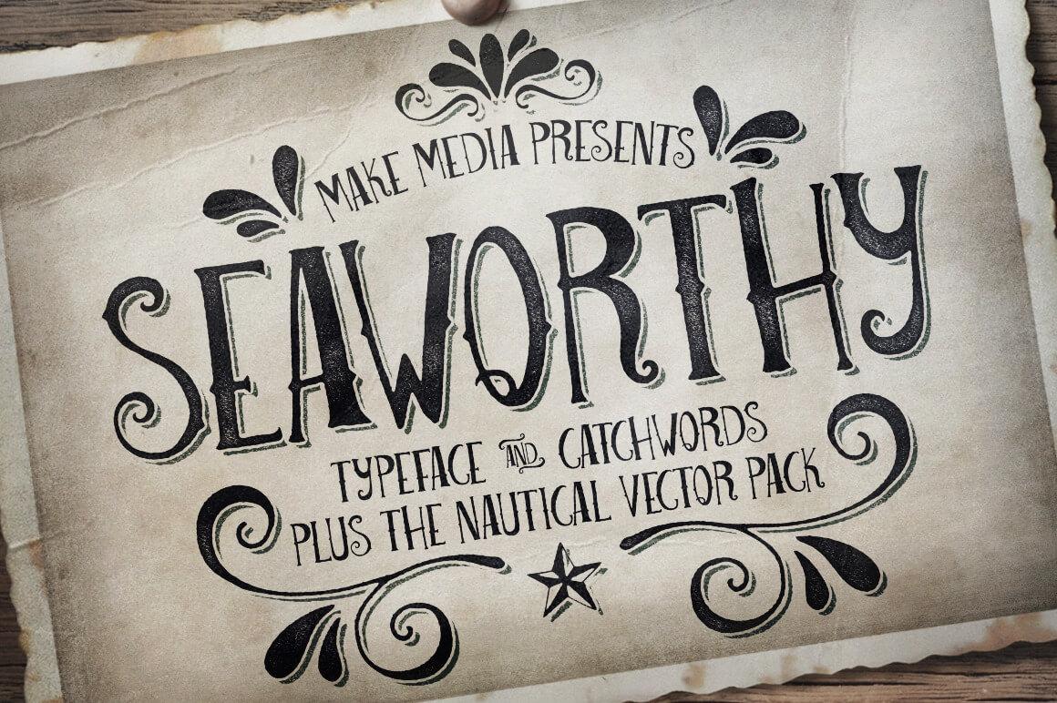 Seaworthy Typeface