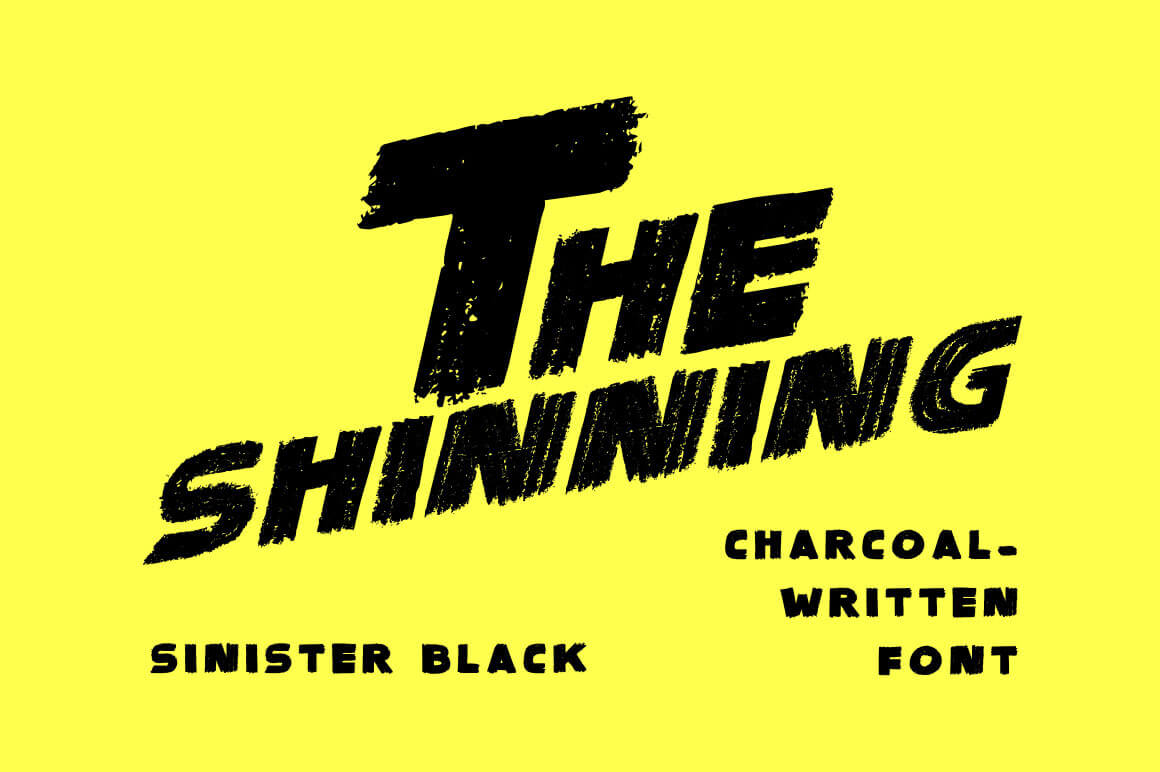 Sinister Black by Skyhaven Fonts