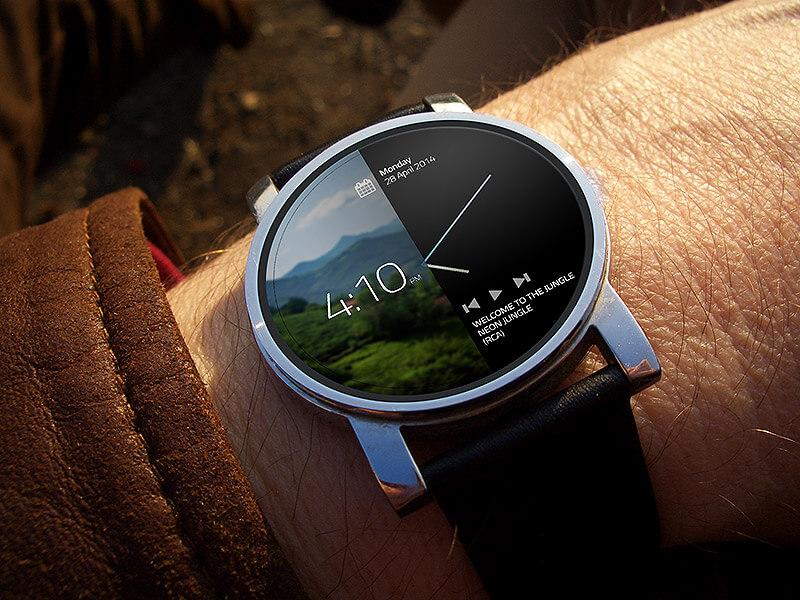 Smart watch concept by Danial Keshani