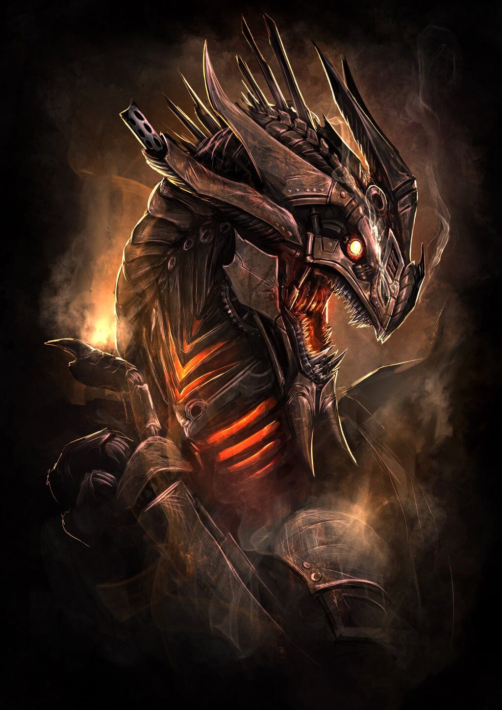 Steampunk Dragon by Tapwing