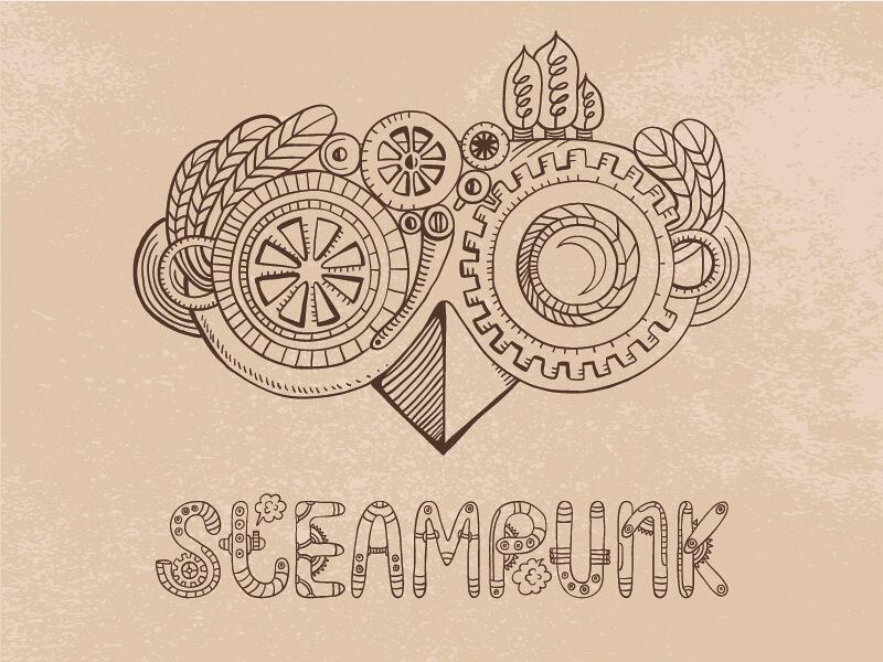 Steampunk goggles by Tatsiana Kandrashova