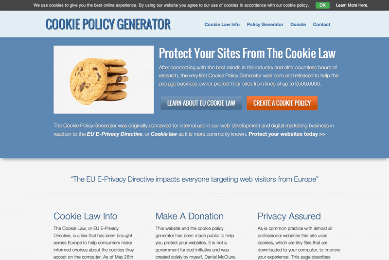 Cookie Policy Generator -min