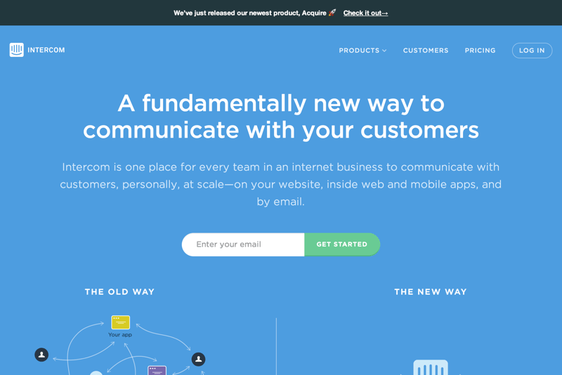 Customer Communication Platform - Intercom