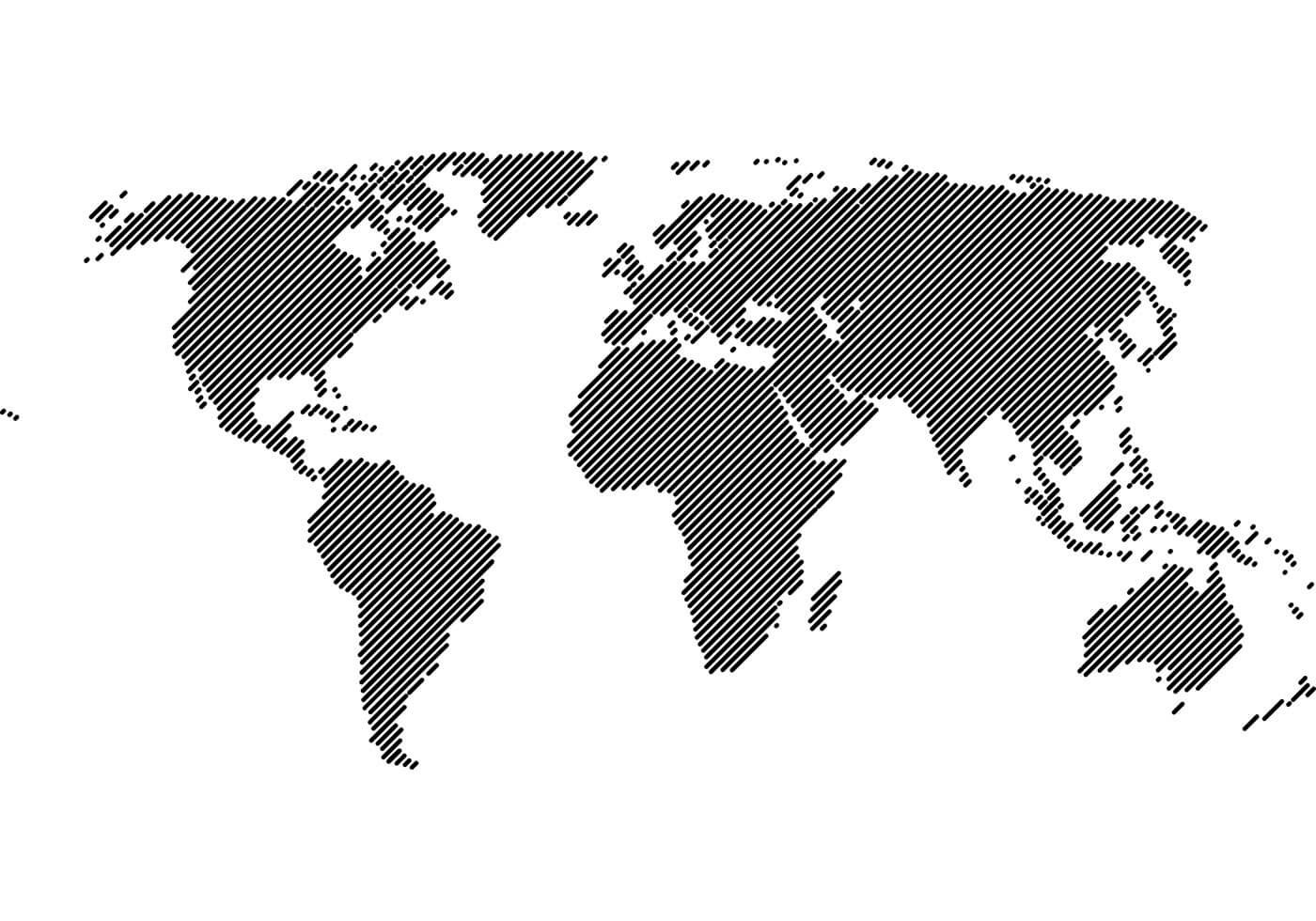 Lines World Map
