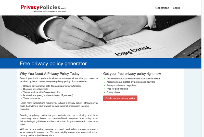Privacy Policy Generator-min