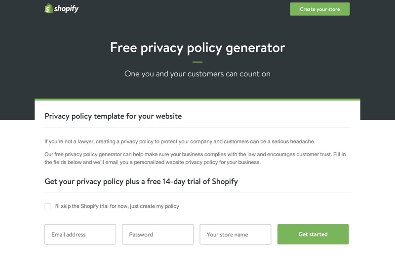Shopify Policy Generator-min